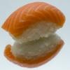 Суши с копчёным лососем